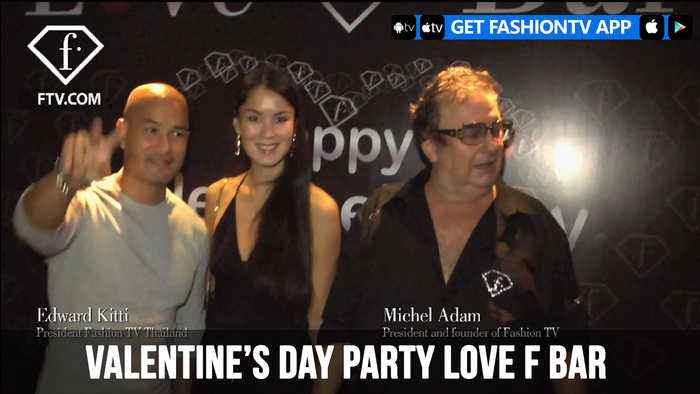 Valentine's Day Party at Love F Bar in Bangkok | FashionTV | FTV