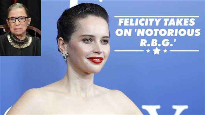Why Felicity Jones wanted to play Ruth Bader Ginsburg