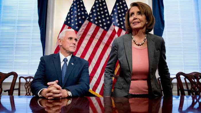 Nancy Pelosi Revokes Mike Pence's Office Space On The House Side Of The Capitol