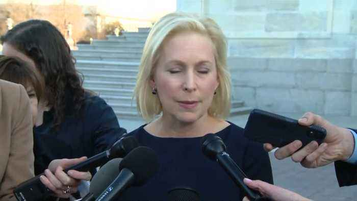Sen. Kirsten Gillibrand defends office's handling of claims against staffer