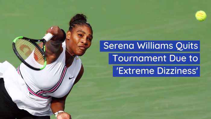 Serena Williams Leaves Tourney Not Feeling Well