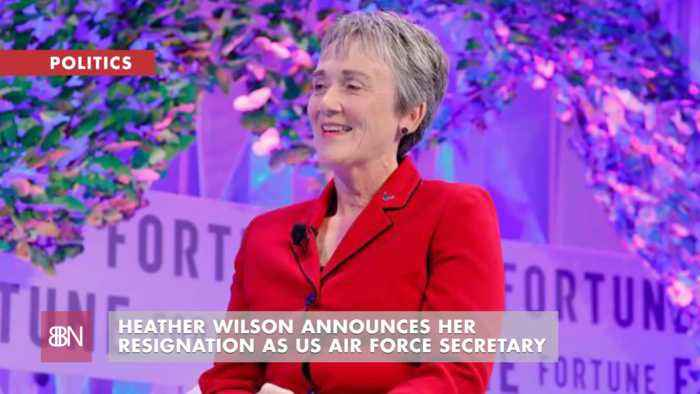 The U.S. Air Force Secretary Resigns
