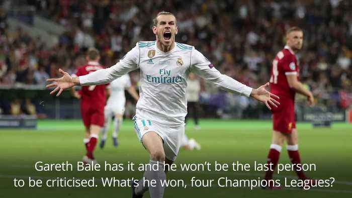 Giggs: Bale criticism comes with the territory at Real Madrid