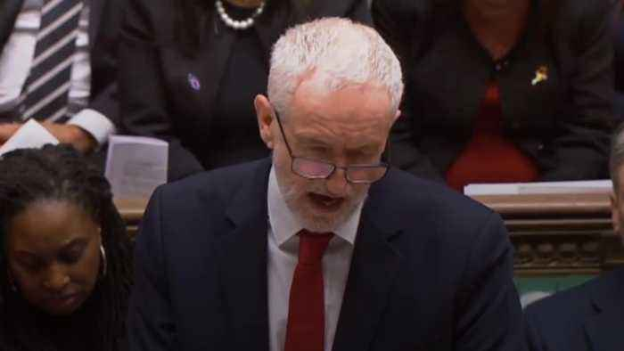 Jeremy Corbyn: Government must accept their deal is dead