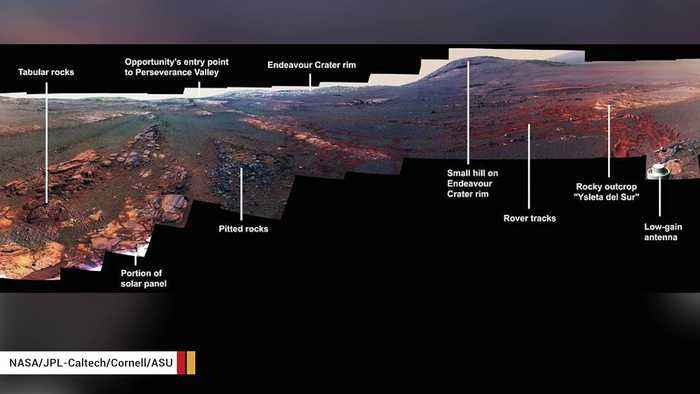 This Is Mars Rover Opportunity's Last Panorama