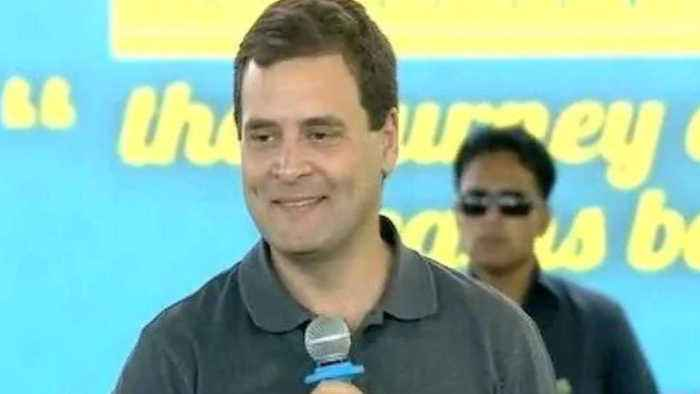 Rahul Gandhi Targets Modi in Front of Students at Stella Maris College Chennai | Oneindia News