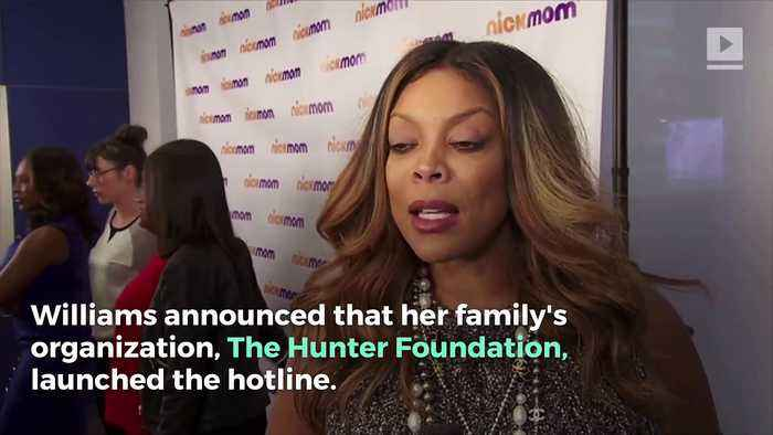 Wendy Williams Announces New Substance Abuse Hotline