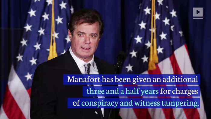Paul Manafort Sentenced to Seven Years in Prison