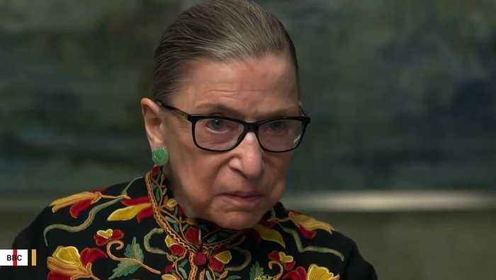 New York Authorities Investigate Graffiti On Ruth Bader Ginsburg Poster