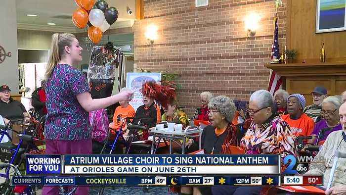 Retirement community choir to sing National Anthem at Orioles game