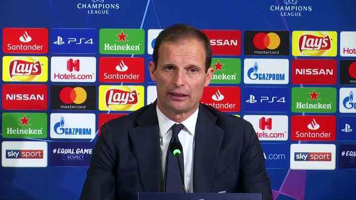 Allegri delighted with Ronaldo and Juve's performance