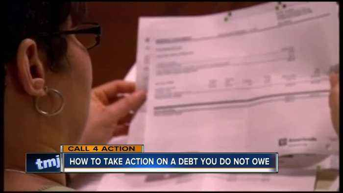 How to take action on a debt you do not owe