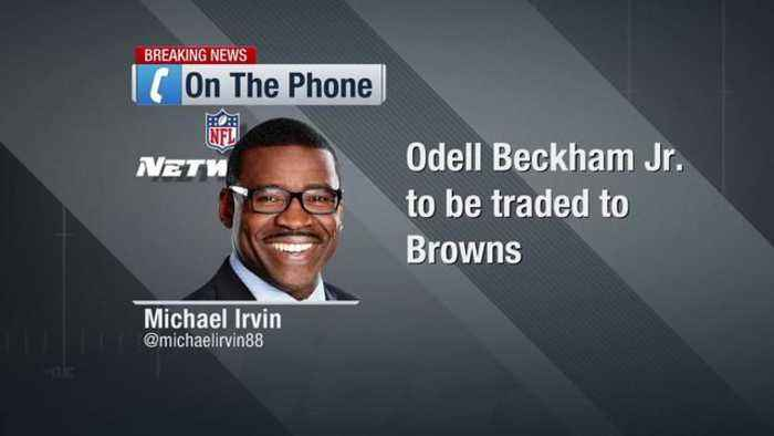 Michael Irvin: 'I'm ready to put Cleveland at top' of AFC North after Odell Beckham Jr. trade