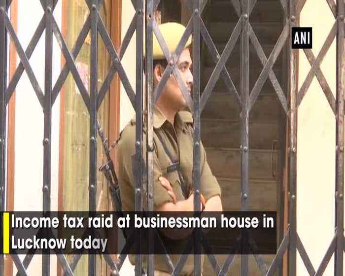 Income tax raid at businessman house in Lucknow