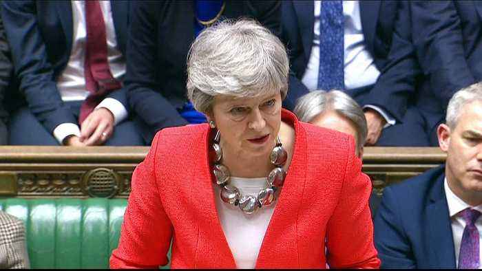 UK parliament blocks May's Brexit deal for second time