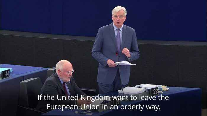 Michel Barnier: We will remain determined, calm and united during Brexit