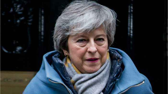 May Confirms She Will Vote Against No-Deal Brexit