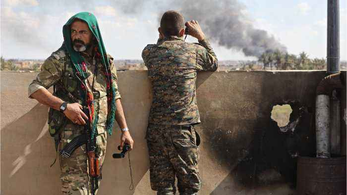 Syria: Thousands Of Isis Troops Surrender In Last Stronghold