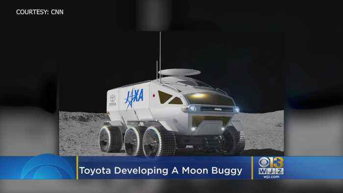 Toyota Is Working On A Moon Buggy With Japan's Space Agency