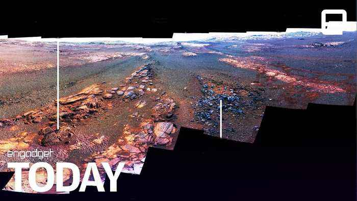 Opportunity's last gift from Mars is a beautiful panorama | Engadget Today