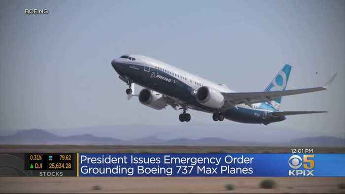 President Trump Issues Emergency Order To Ground Boeing 737 Max Jets