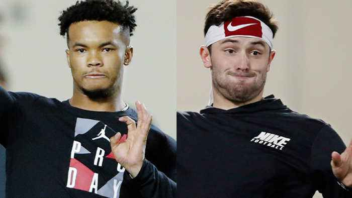 Daniel Jeremiah compares pro day workouts of Oklahoma Sooners quarterback Kyler Murray, Cleveland Browns QB Baker Mayfield