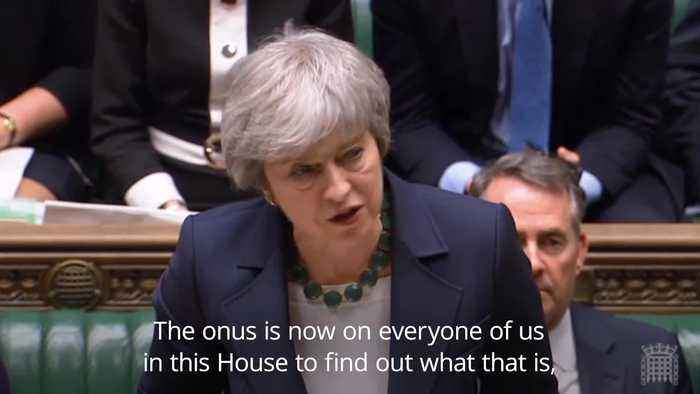 Theresa May: Threat of no-deal Brexit remains if no agreement is reached