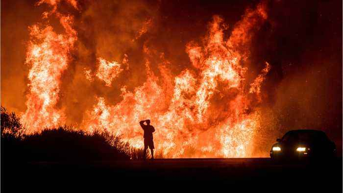 Thomas Fire Sparked By Power Lines From SoCal Edison