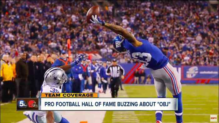 Odell Beckham Jr. already in Pro Football Hall of Fame