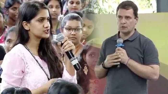 When a girl question Rahul Gandhi over Robert Vadra's corruption | Oneindia News
