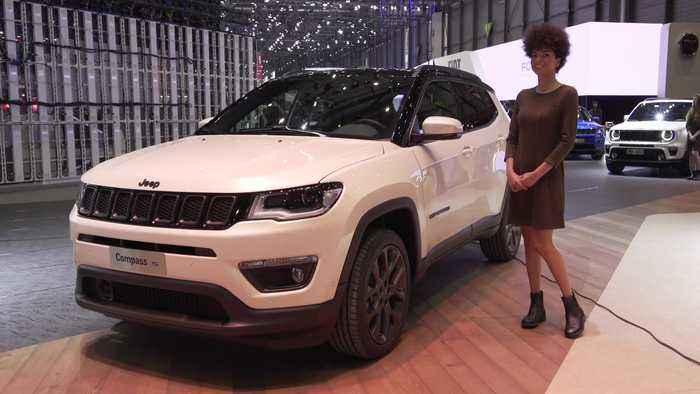 The new Jeep Compass S at the 2019 Geneva Motor Show