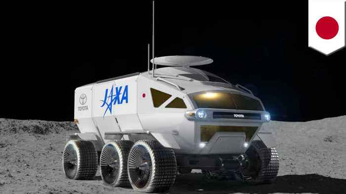 Japan's space agency and Toyota are making a moon car