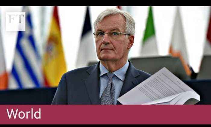 Michel Barnier warns risk of no-deal Brexit 'at highest'