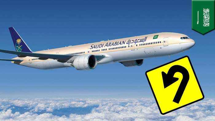 Saudi plane hangs a uey after mom forgets baby at airport