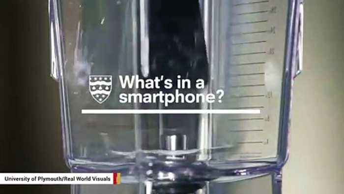 Scientists Put A Smartphone In A Blender To Reveal What's Inside