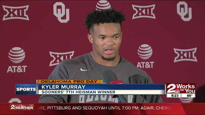 Kyler Murray impresses NFL scouts with passing ability at Oklahoma Sooners Pro Day