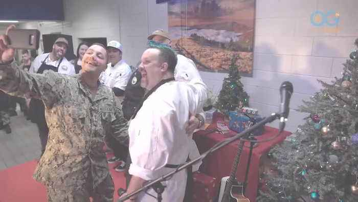 Chefs Honor Sailors and Their Families With a Holiday Feast to Remember (Random Acts of Cooking E1)