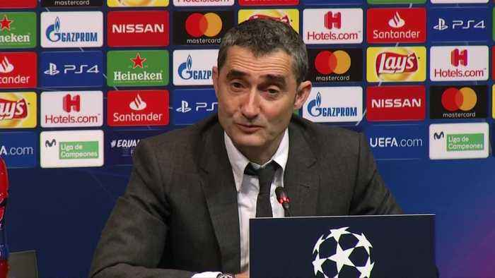Valverde praises 'incredible' Leo Messi after win over Lyon
