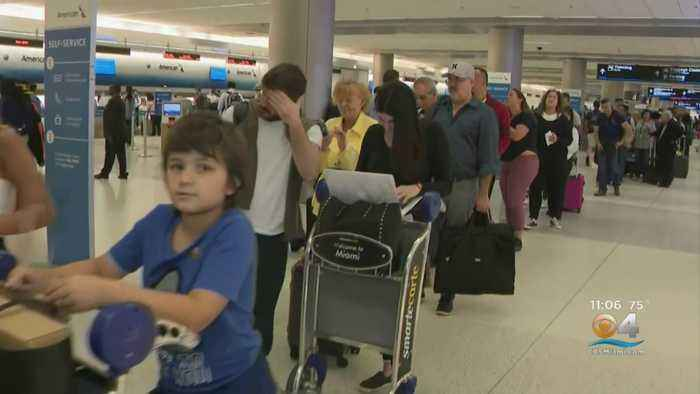 Travelers In Miami Not Happy About Long Lines But Understand Safety Comes First