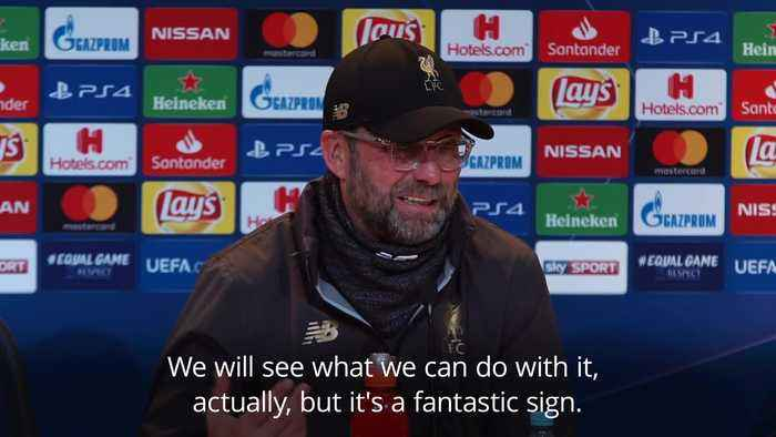 Klopp: Liverpool are back where they belong