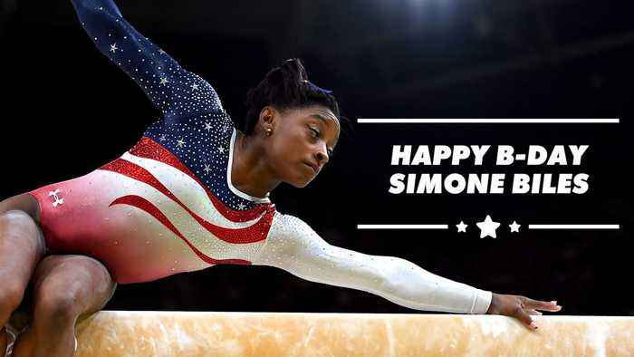 What makes Olympian Simon Biles just so inspirational