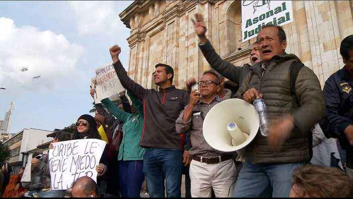 Colombia: March in favour of FARC peace accord