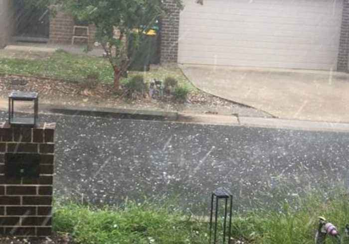 Hail Batters Sydney as Thunderstorms Roll Over City