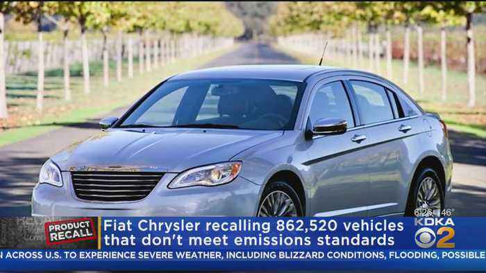 Fiat Chrysler Recalls Vehicles Not Meeting Emissions Standards