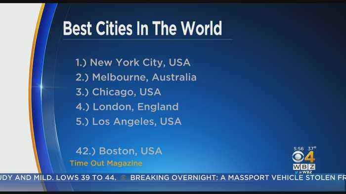 Boston Barely Makes List Of Best Cities In The World