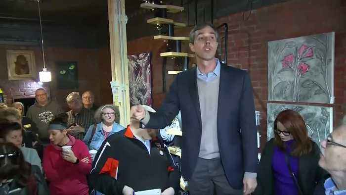 O'Rourke hits the ground running in Iowa