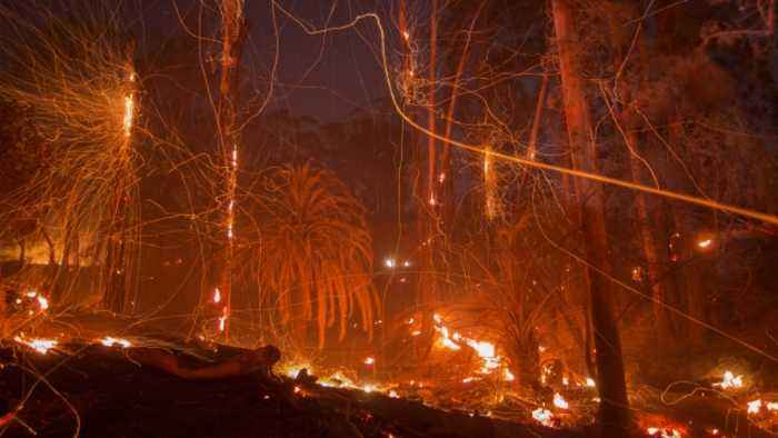 Report: California's Thomas Fire Was Caused By Power Lines