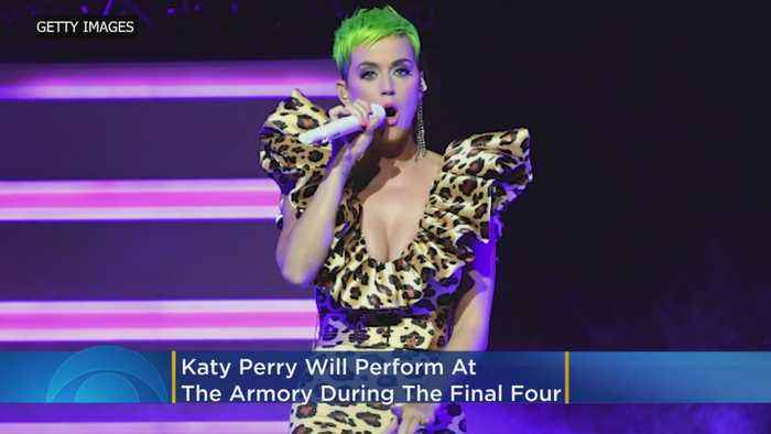 Katy Perry To Perform At The Armory During Final Four