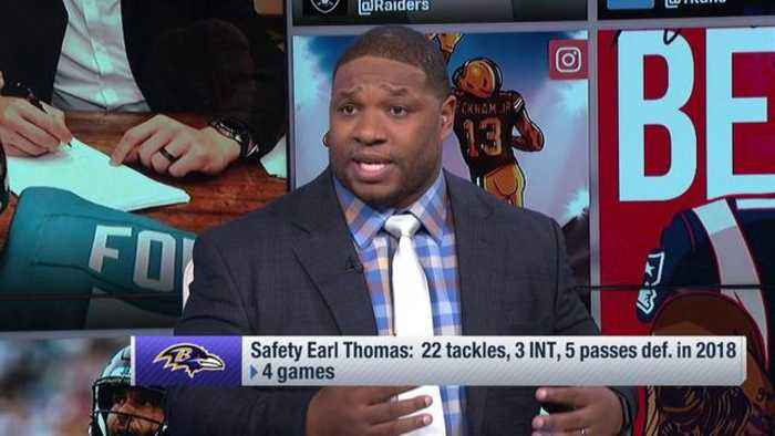 Hall of Fame safety Ed Reed 2.0? NFL Network's Maurice Jones-Drew thinks safety Earl Thomas is the closest Baltimore Ravens fans