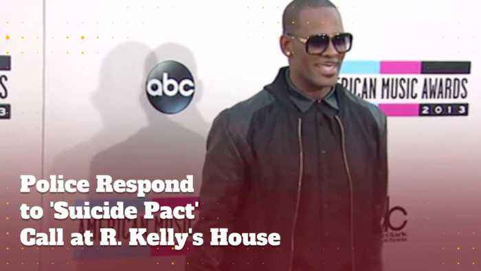 No Suicide Pact At R.Kelly's House